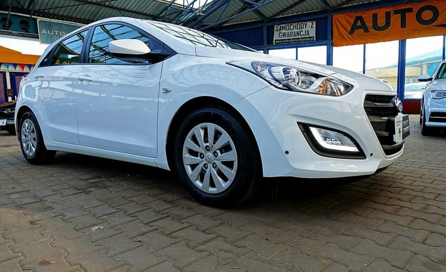 Hyundai i30 3 Lata GWARANCJA I-wł Kraj Bezwypadkowy 6-biegów LEDY+Bluetooth FV23% 4x2 zdjęcie 47
