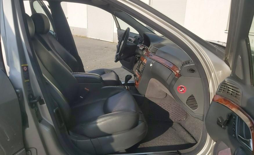 Mercedes S 320 S KLASA 320 CDI 218KM zdjęcie 14