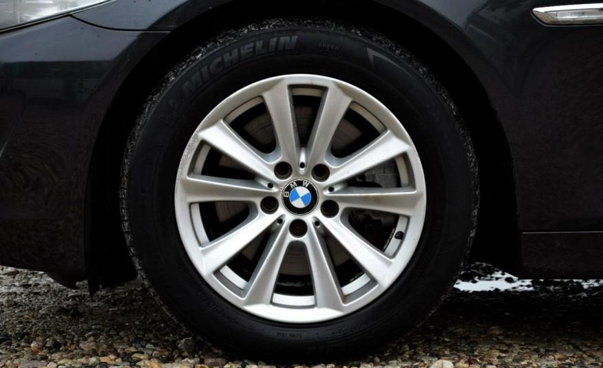 BMW 520 Opłacona 2.0D 184KM Serwis Panorama Navi Skóra Xenon zdjęcie 3