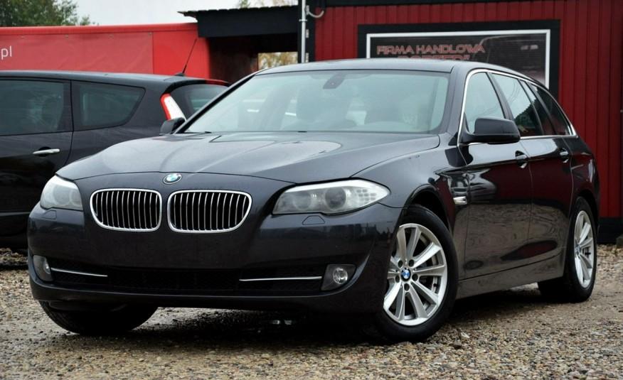 BMW 520 Opłacona 2.0D 184KM Serwis Panorama Navi Skóra Xenon zdjęcie 7