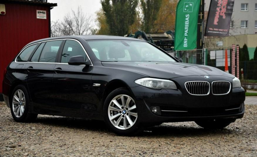 BMW 520 Opłacona 2.0D 184KM Serwis Panorama Navi Skóra Xenon zdjęcie 11