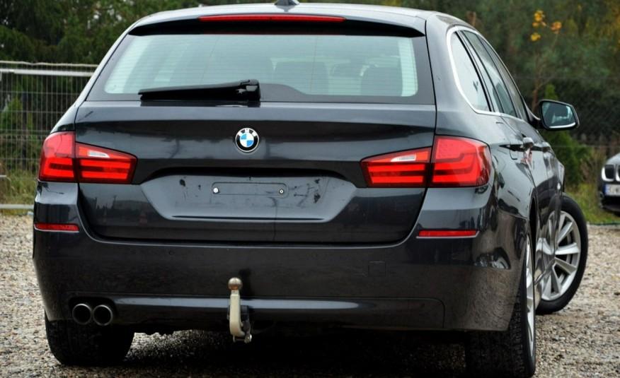 BMW 520 Opłacona 2.0D 184KM Serwis Panorama Navi Skóra Xenon zdjęcie 12