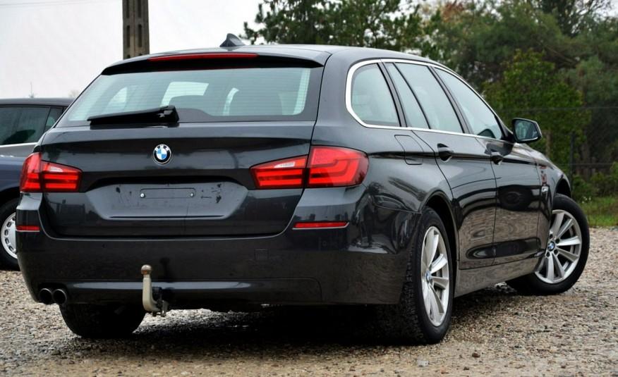 BMW 520 Opłacona 2.0D 184KM Serwis Panorama Navi Skóra Xenon zdjęcie 13
