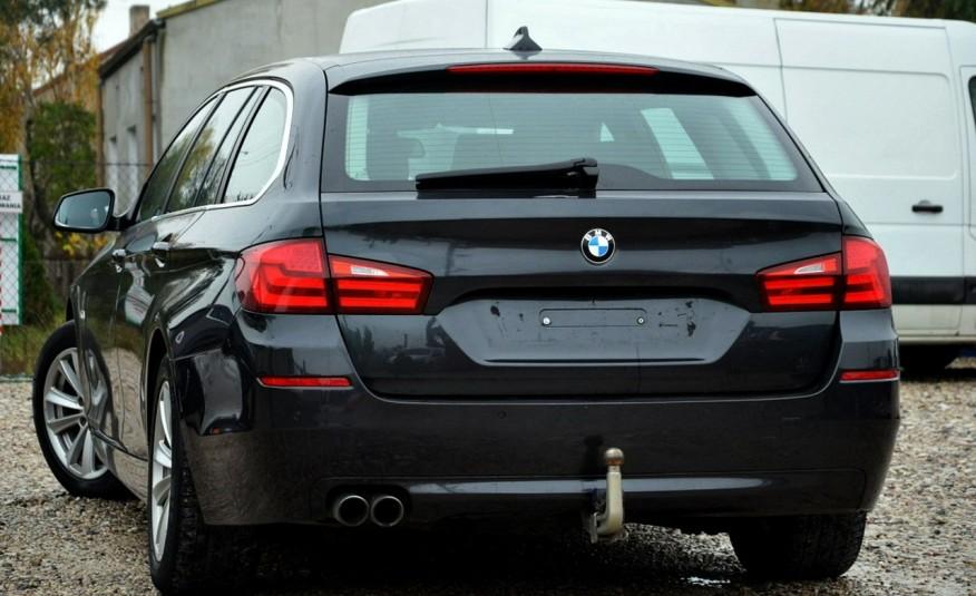 BMW 520 Opłacona 2.0D 184KM Serwis Panorama Navi Skóra Xenon zdjęcie 14