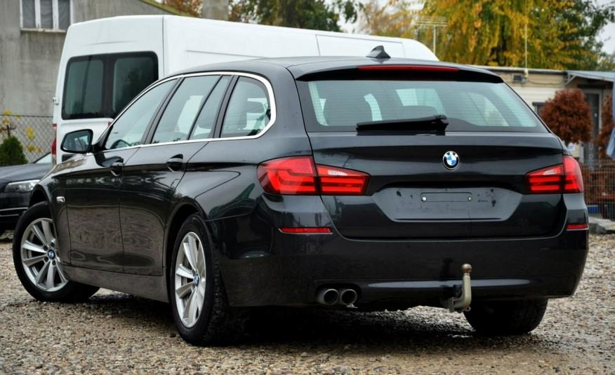 BMW 520 Opłacona 2.0D 184KM Serwis Panorama Navi Skóra Xenon zdjęcie 15