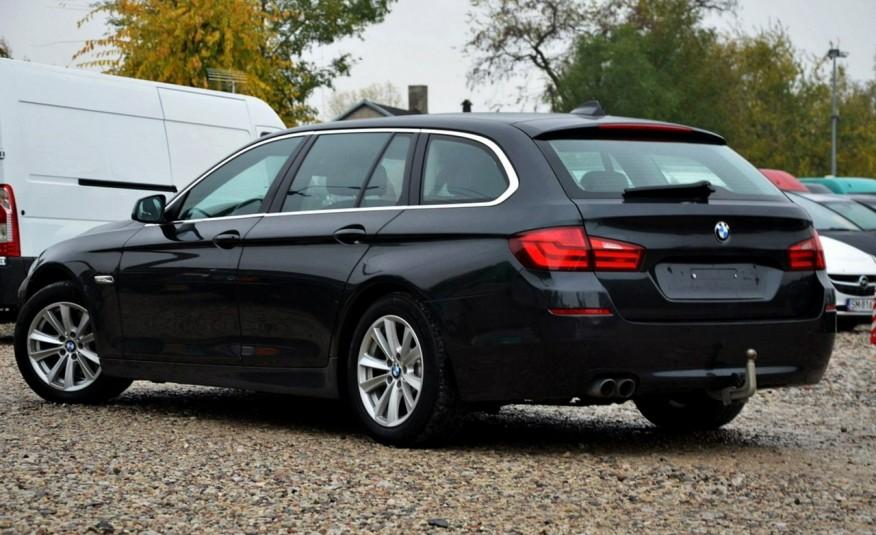 BMW 520 Opłacona 2.0D 184KM Serwis Panorama Navi Skóra Xenon zdjęcie 16