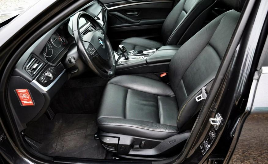 BMW 520 Opłacona 2.0D 184KM Serwis Panorama Navi Skóra Xenon zdjęcie 20
