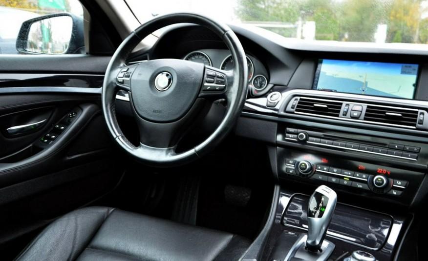 BMW 520 Opłacona 2.0D 184KM Serwis Panorama Navi Skóra Xenon zdjęcie 32