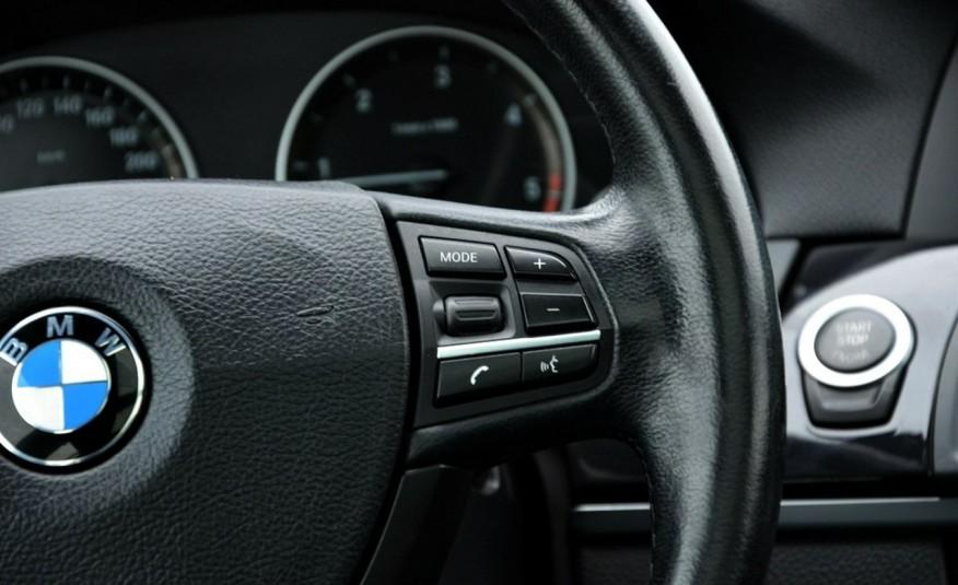 BMW 520 Opłacona 2.0D 184KM Serwis Panorama Navi Skóra Xenon zdjęcie 35