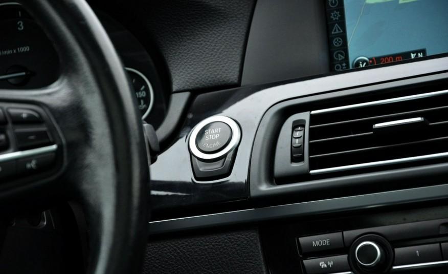 BMW 520 Opłacona 2.0D 184KM Serwis Panorama Navi Skóra Xenon zdjęcie 36