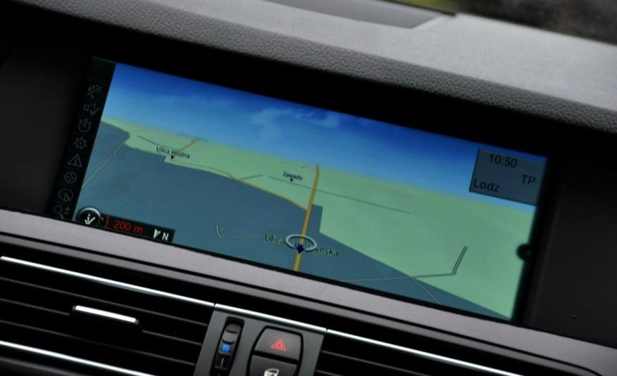 BMW 520 Opłacona 2.0D 184KM Serwis Panorama Navi Skóra Xenon zdjęcie 37