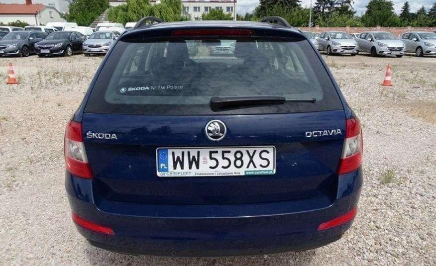 Skoda Octavia 1.6 TDI Salon PL 1 wł ASO FV23% Transport GRATIS zdjęcie 6