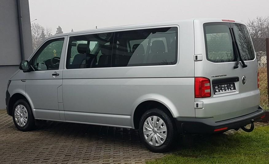 Volkswagen Transporter T6 TRANSPORTER DŁUGI 9 OSÓB L2H1 KLIMA 2.0 TDI 102 KM KRAJOWY zdjęcie 3