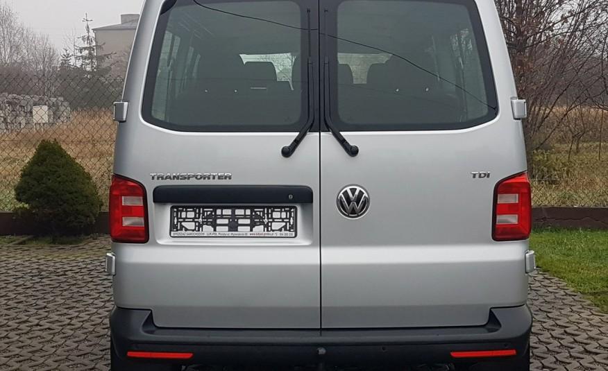 Volkswagen Transporter T6 TRANSPORTER DŁUGI 9 OSÓB L2H1 KLIMA 2.0 TDI 102 KM KRAJOWY zdjęcie 15