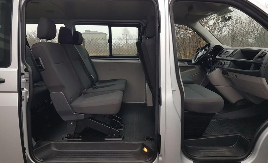 Volkswagen Transporter T6 TRANSPORTER DŁUGI 9 OSÓB L2H1 KLIMA 2.0 TDI 102 KM KRAJOWY zdjęcie 18