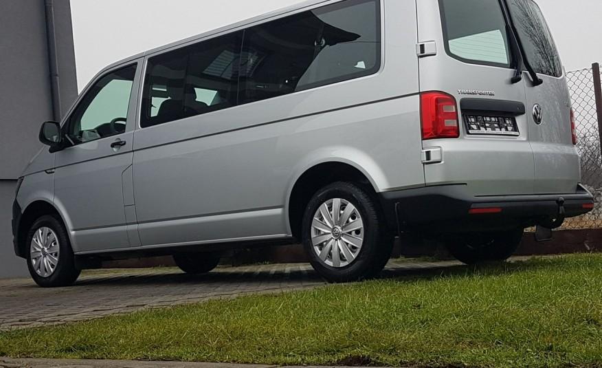 Volkswagen Transporter T6 TRANSPORTER DŁUGI 9 OSÓB L2H1 KLIMA 2.0 TDI 102 KM KRAJOWY zdjęcie 28