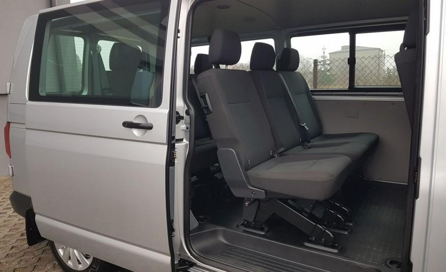 Volkswagen Transporter T6 TRANSPORTER DŁUGI 9 OSÓB L2H1 KLIMA 2.0 TDI 102 KM KRAJOWY zdjęcie 9