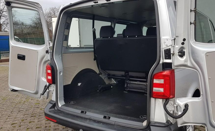 Volkswagen Transporter T6 TRANSPORTER DŁUGI 9 OSÓB L2H1 KLIMA 2.0 TDI 102 KM KRAJOWY zdjęcie 25