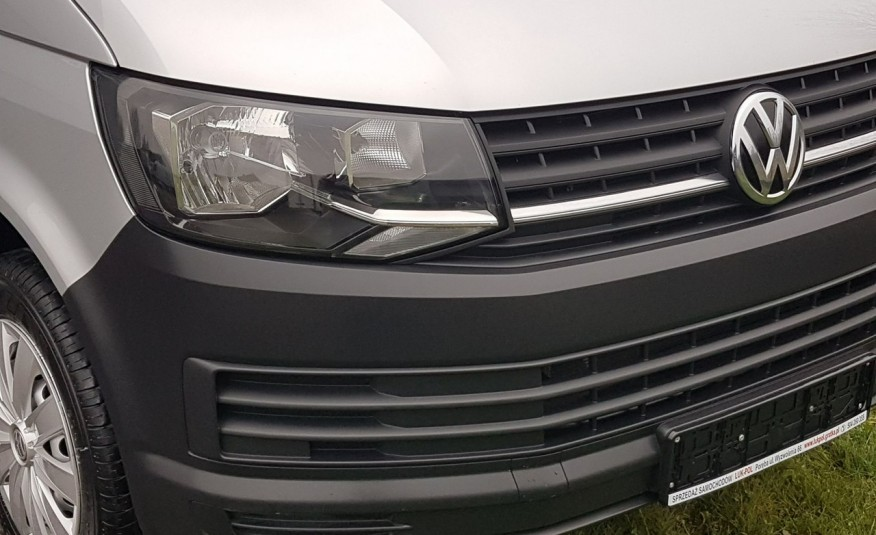 Volkswagen Transporter T6 TRANSPORTER DŁUGI 9 OSÓB L2H1 KLIMA 2.0 TDI 102 KM KRAJOWY zdjęcie 27