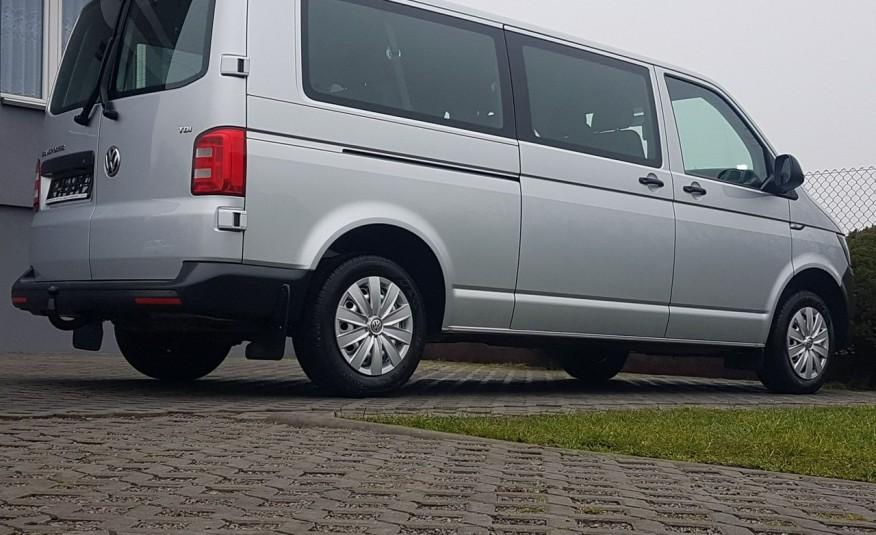 Volkswagen Transporter T6 TRANSPORTER DŁUGI 9 OSÓB L2H1 KLIMA 2.0 TDI 102 KM KRAJOWY zdjęcie 29