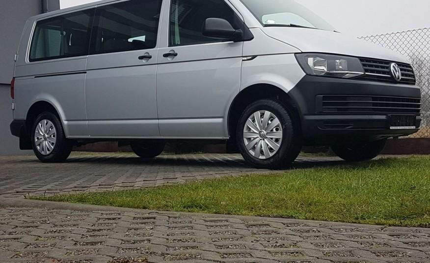 Volkswagen Transporter T6 TRANSPORTER DŁUGI 9 OSÓB L2H1 KLIMA 2.0 TDI 102 KM KRAJOWY zdjęcie 30