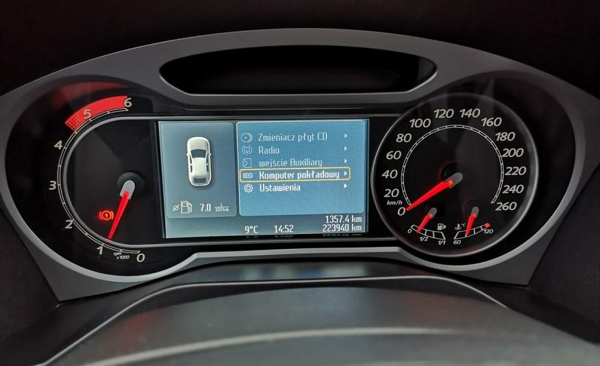 FORD S-Max S-max 2009r 2.0 TDCI 140KM Titanium Bardzo zadbany Opłaty Gwarancja zdjęcie 12