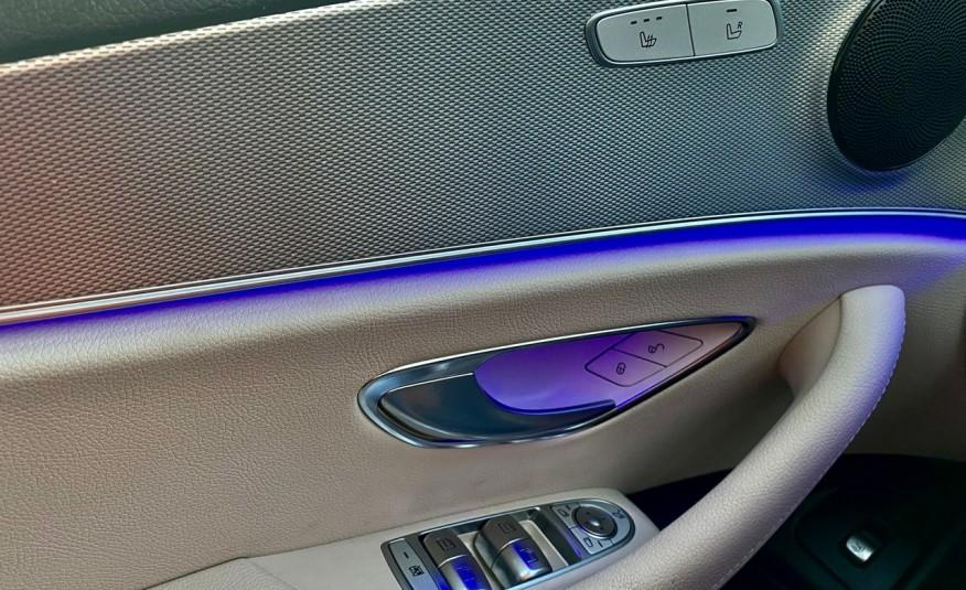 Mercedes E 220 2.2cdi moc194KM full led Skóra kamery360 multi beam 1 rok gwarancji zdjęcie 17