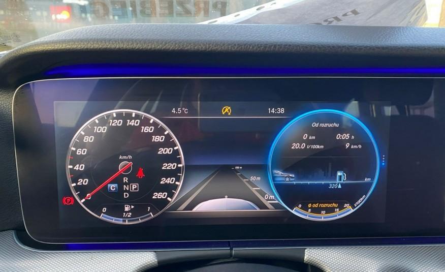 Mercedes E 220 2.2cdi moc194KM full led Skóra kamery360 multi beam 1 rok gwarancji zdjęcie 18