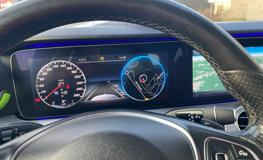 Mercedes E 220 2.2cdi moc194KM full led Skóra kamery360 multi beam 1 rok gwarancji zdjęcie 19