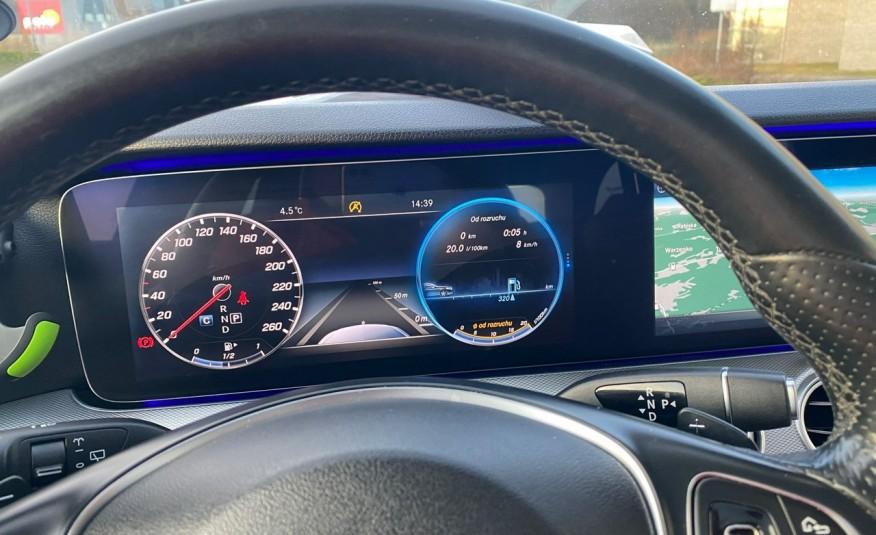 Mercedes E 220 2.2cdi moc194KM full led Skóra kamery360 multi beam 1 rok gwarancji zdjęcie 37