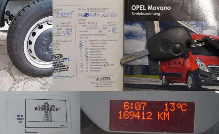 Opel Movano jak Master Doka Klima Brygadówka zdjęcie 17