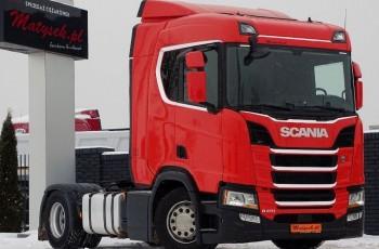 Scania R 410 / NOWY MODEL / RETARDER / MASA WŁASNA: 7700 KG / Z NIEMIEC / MAŁY PRZEBIEG / I-COOL / ACC /