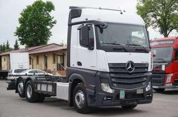 Mercedes ACTROS 2542 / E 6 / 6x2 / RAMA BDF 7.20 M / POD ZABUDOWE / RETARDER / SPROWADZONY Z NIEMIEC