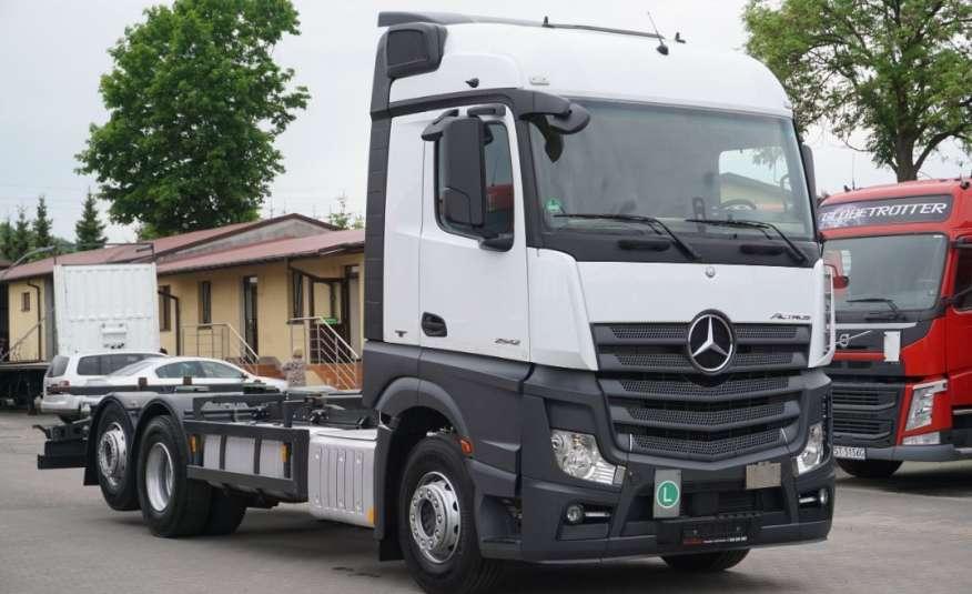 Mercedes ACTROS 2542 / E 6 / 6x2 / RAMA BDF 7.20 M / POD ZABUDOWE / RETARDER / SPROWADZONY Z NIEMIEC zdjęcie 1