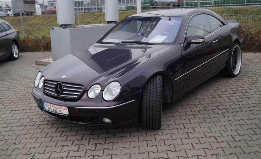 Mercedes cl zdjęcie 1