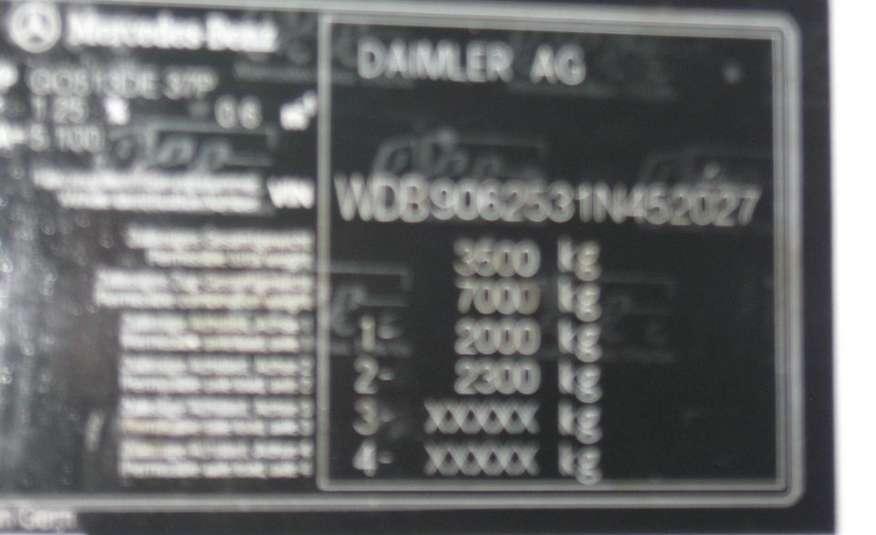 Mercedes SPRINTER 513CDI. DOBEL KABINA 6-OSÓB + KIPER- WYWROTKA. KLIMATYZACJA zdjęcie 4