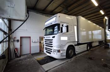 Scania R450 Topline z Niemiec Alcoa standard xenon