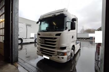 Scania r450 highline retarder pełen ADR 2015 z Niemiec idalna