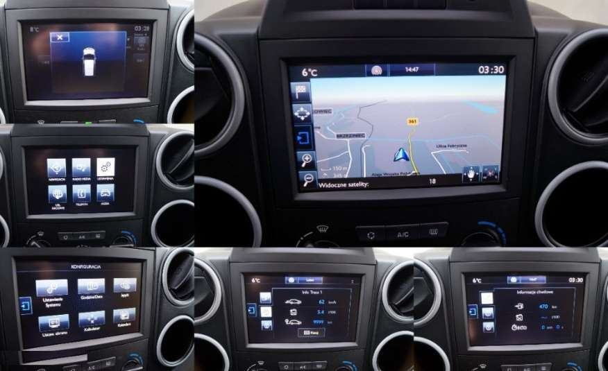 Peugeot Partner wersja Premium Nawigacja Czujniki zdjęcie 17