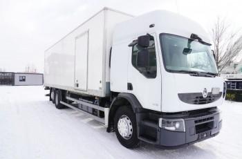 Renault Premium 310DXI , , 6x2 , 250 TYS KM 23 EPAL , dł 9, 5m , drzwi boczne , winda chowana , kab sypialna , oś podnoszona , kontener , izoterma , box , skrzynia , koffer 23 palet