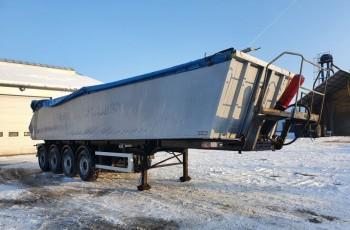 KEL-BERG Wywrotka 37m3 4-osiowa 2012 rok /uszkodzona