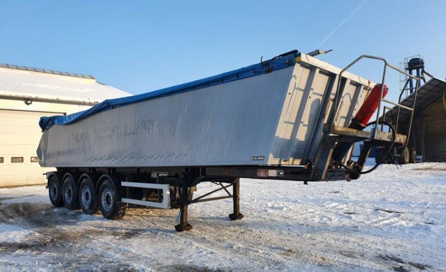 KEL-BERG Wywrotka 37m3 4-osiowa 2012 rok /uszkodzona zdjęcie 1