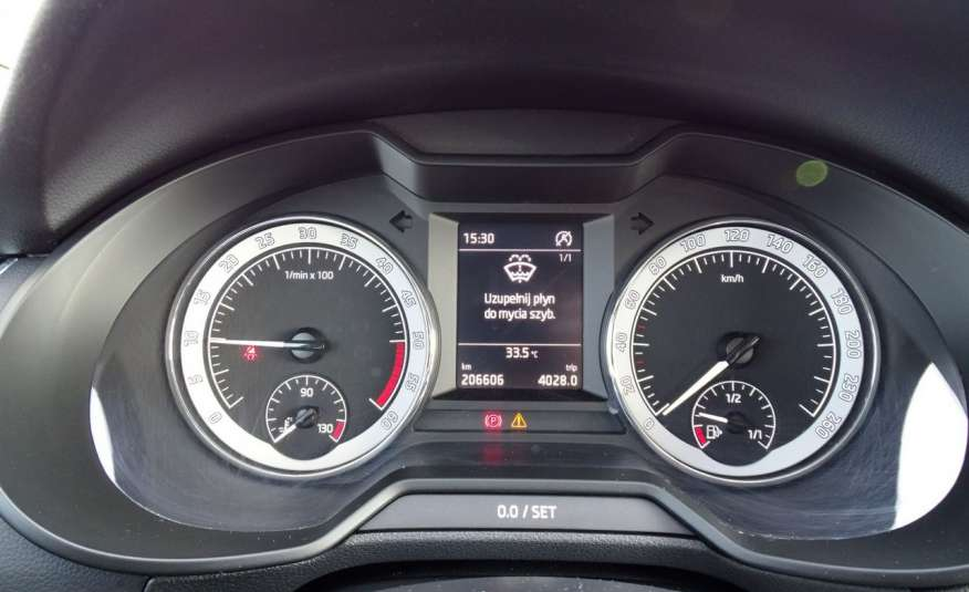 Skoda Octavia 1.6 TDI Salon PL 1 wł ASO FV23% Transport GRATIS zdjęcie 12