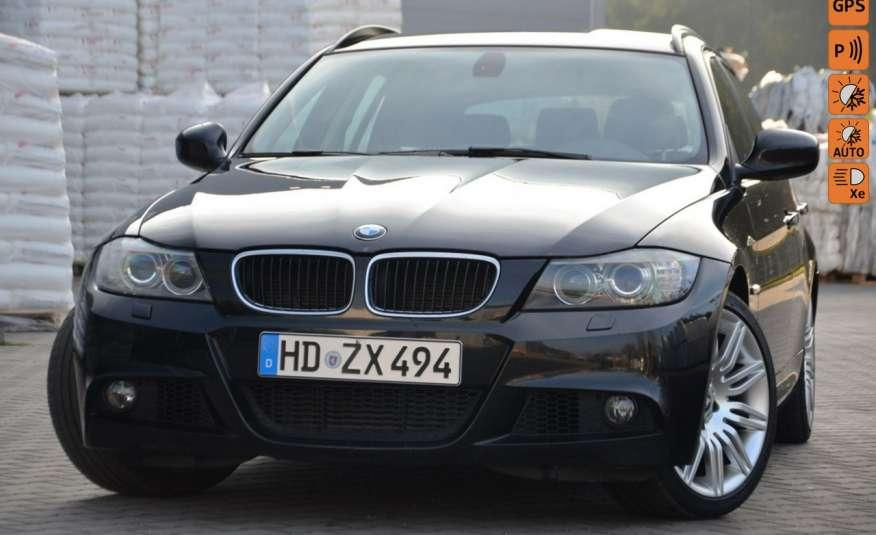 BMW 320 Czarny M-Pakiet Zarejestrowany 2.0D 163KM Lift Navi Alu Gwarancja zdjęcie 1