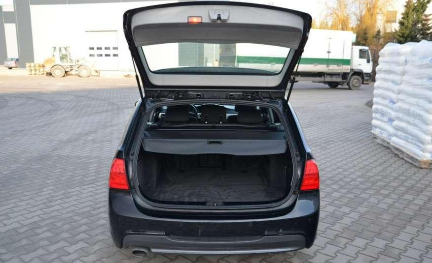 BMW 320 Czarny M-Pakiet Zarejestrowany 2.0D 163KM Lift Navi Alu Gwarancja zdjęcie 2