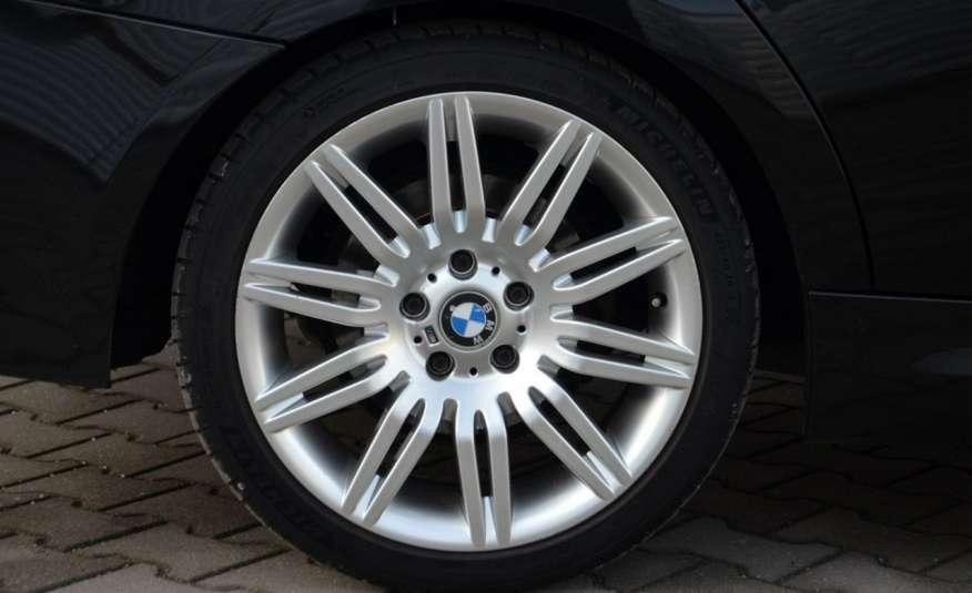 BMW 320 Czarny M-Pakiet Zarejestrowany 2.0D 163KM Lift Navi Alu Gwarancja zdjęcie 4