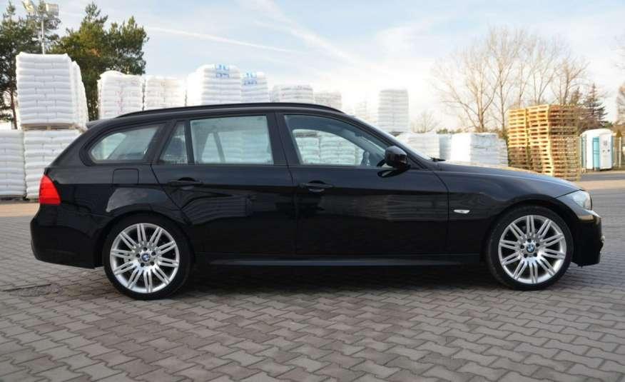 BMW 320 Czarny M-Pakiet Zarejestrowany 2.0D 163KM Lift Navi Alu Gwarancja zdjęcie 5