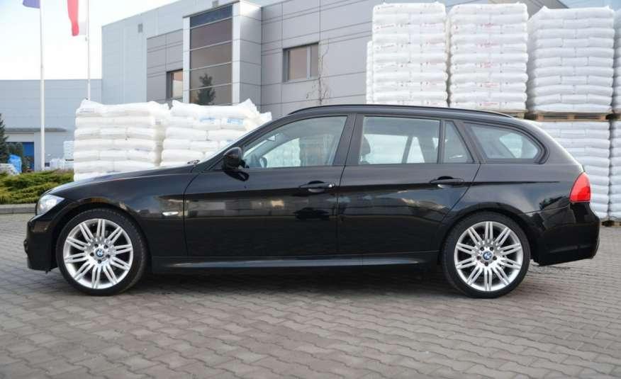 BMW 320 Czarny M-Pakiet Zarejestrowany 2.0D 163KM Lift Navi Alu Gwarancja zdjęcie 6
