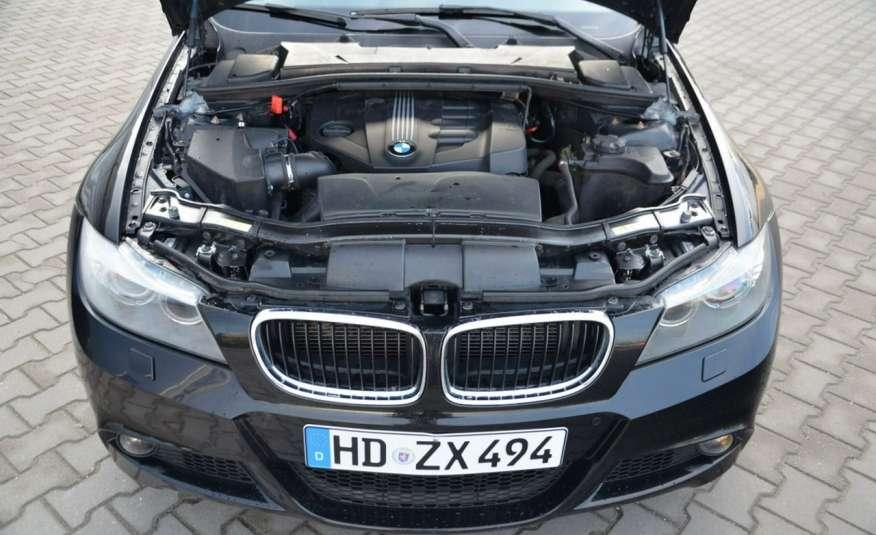 BMW 320 Czarny M-Pakiet Zarejestrowany 2.0D 163KM Lift Navi Alu Gwarancja zdjęcie 7