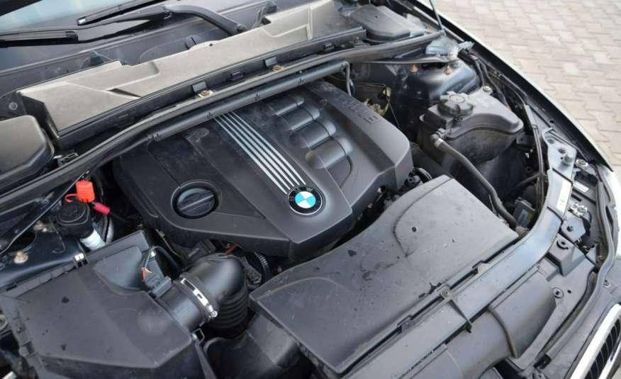 BMW 320 Czarny M-Pakiet Zarejestrowany 2.0D 163KM Lift Navi Alu Gwarancja zdjęcie 8